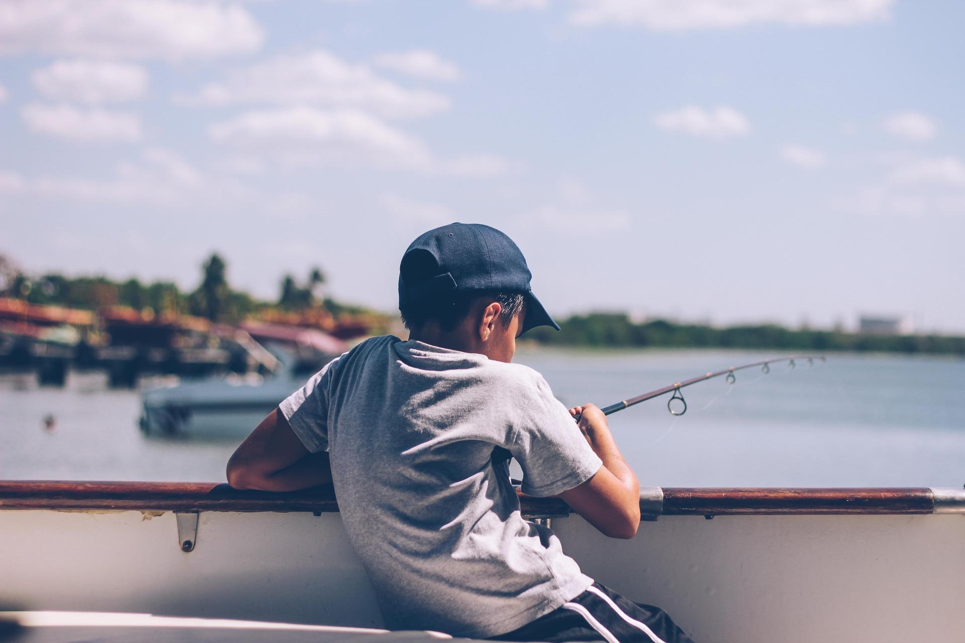 Att fiska med barn